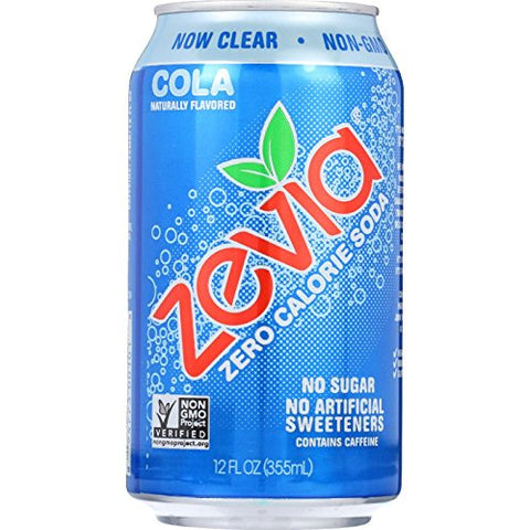 Zevia Natural Cola Diet Soda ( 4x6/12 OZ) ( Value Bulk Multi-pack)