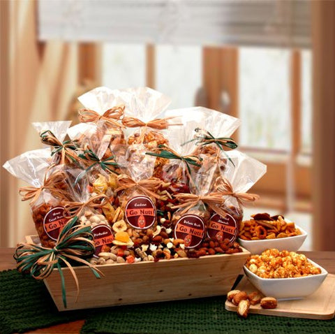 Gift Basket Drop Shipping 810752 Premium Nuts and Snacks Assortment