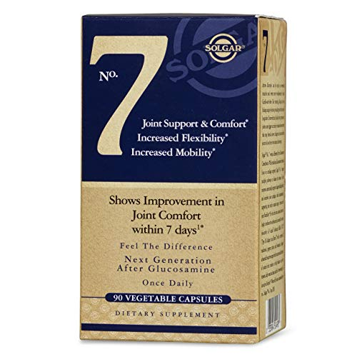 Solgar No. 7, 90 Vegetable Capsules   3 Pack   Joint Support & Comfort   Increased Mobility & Flexib