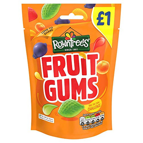 Rowntree's Fruit Gums 120g (Pack of 10)