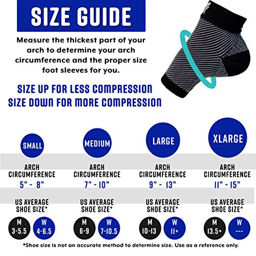 Plantar Fasciitis Socks, Compression Foot Sleeves With Arch Support For Men And Women