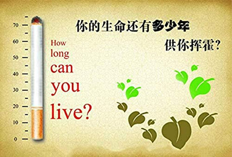 Yunnan Chinese Herbal Cigarettes, Green Tea Menthol Cigarettes, Smoke-Free-Nicotine-Free, Can Replace Cigarettes-Cigarettes That Can Clean The Lungs (5 Packs,Mountain Bell)
