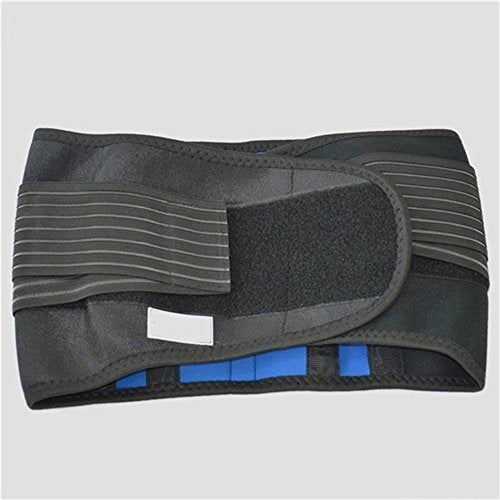 Deluxe Double-Pull Neoprene Lumbar Support Belt - Lower Back Support Brace - Exercise Belt (X-Large)