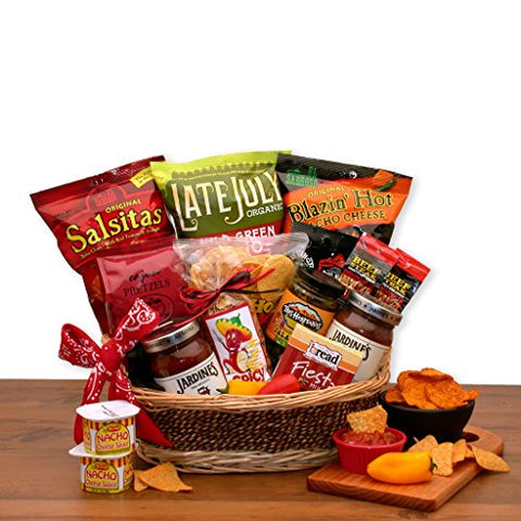 Hot and Spicy! Gourmet Foods Snack Gift Basket