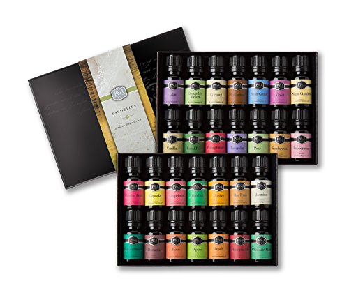 Favorites Set of 28 Premium Grade Fragrance Oils - 10ml