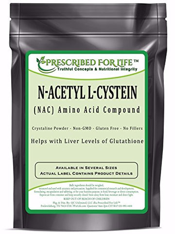 N-Acetyl L-Cystein (NAC) - Amino Acid Compound Powder, 1 kg