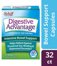 Image of Intensive Bowel Support Probiotic Supplementâ   Digestive Advantage 32 Capsules,â Defends Against Ga