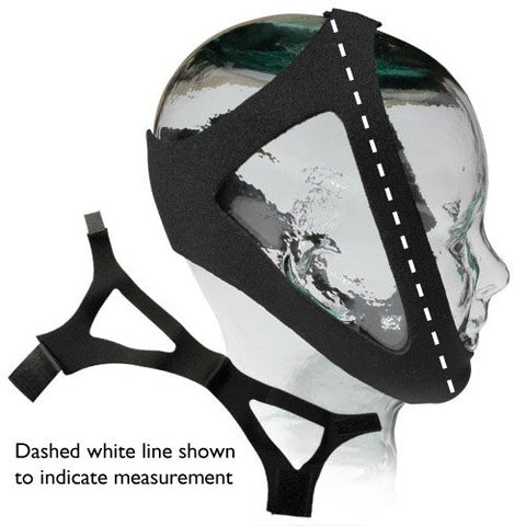 Adjustable Neoprene Chinstrap (CS003M - 8 Inch)