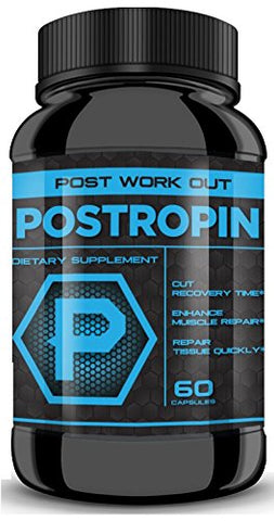 POSTROPIN - Substantially Cut Recovery time, Boost Muscle Repair to the MAX with MAX Potency! Combine with Maxtropin and Testropin for ULTIMATE Results!