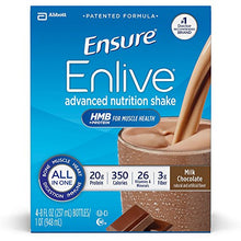 Ensure Enlive Nutrition Shake, Chocolate (8 fl. oz., 16 ct.)