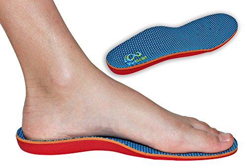 New Bouncy & Sturdy Technology Insole By Kidsole. For Active Kid's With Sensitive Feet Who Need Arch