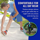 Image of Plantar Fasciitis Socks, Compression Foot Sleeves With Arch Support For Men And Women