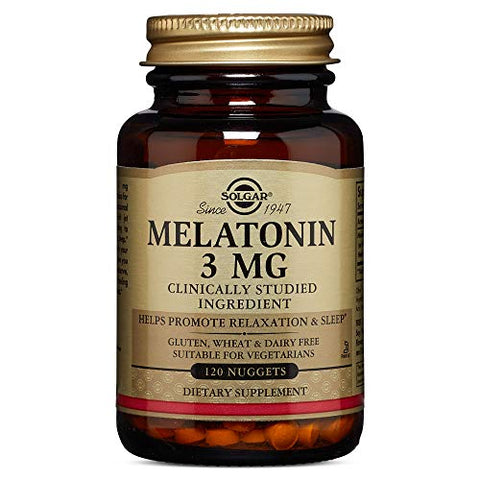 "Solgar ã¢â€â"" Melatonin 3 Mg, 120 Nuggets"