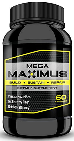 MEGAMAXIMUS - take Your Workout to The MAX! Build, Sustain, and Repair Faster with MegamaXimus! (1 Bottle)