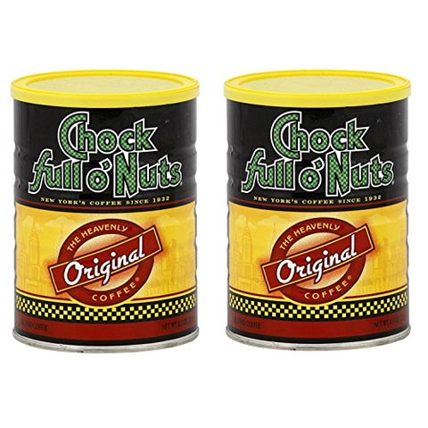 Chock Full O' Nuts Original Ground Coffee 11.3 oz (2 Pack)