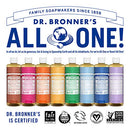 Image of Dr. Bronnerâ??S   Pure Castile Liquid Soap (Baby Unscented, 16 Ounce, 2 Pack)   Made With Organic Oi