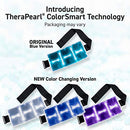 Image of TheraPearl Color Changing Hot Cold Pack for Back, Reusable Back Wrap with Strap & Gel Beads, Best Ice Bag for Lower Back Pain Relief, Flexible Hot & Cold Compress for Swelling, Sports Injuries