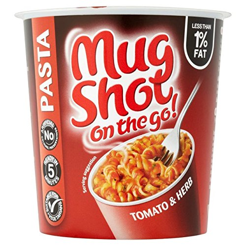 Mug Shot On The Go Tomato and Herb Pasta 64g