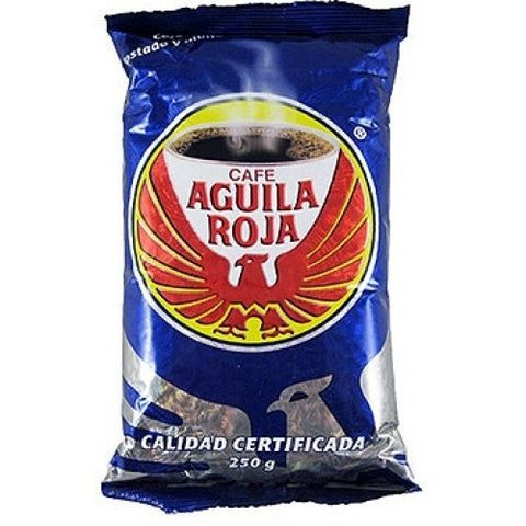 Cafe Aguila Roja 250 G (Imported) 100% Pure Roasted Colombian Coffee