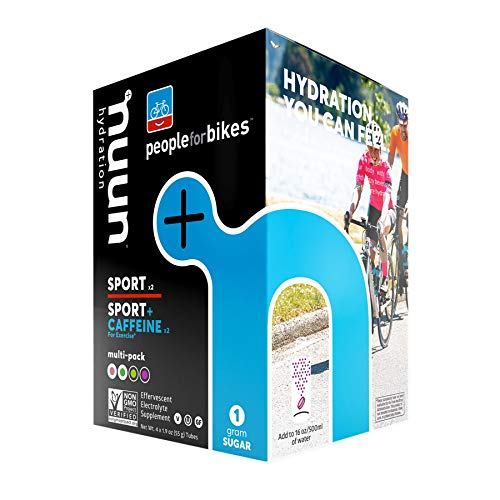 Nuun Hydration Tablets: People Bikes Mixed Pack Box 4 Tubes