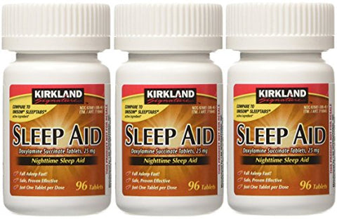Sleep Aid Succinate 25 Mg 2 Bottles X 96 Tabs
