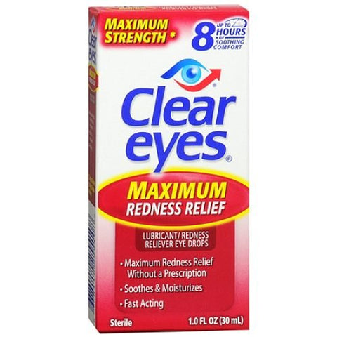Clear Eyes Maximum Redness Relief Sterile 1 Fl Oz
