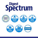 Image of Enzymedica, Digest Spectrum, Dietary Supplement to Support Digestive Relief from Food Intolerances, Vegan, Gluten Free, Non-GMO, 120 Capsules (60 Servings) (FFP)
