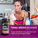 Image of Optimum Nutrition Opti Women, Vitamin C, Zinc And Vitamin D For Immune Support Womens Daily Multivit