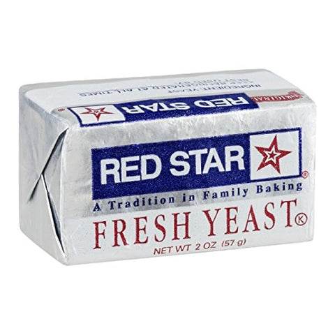 Red Star Fresh Yeast Cake, 2 Ounce (Pack of 08)