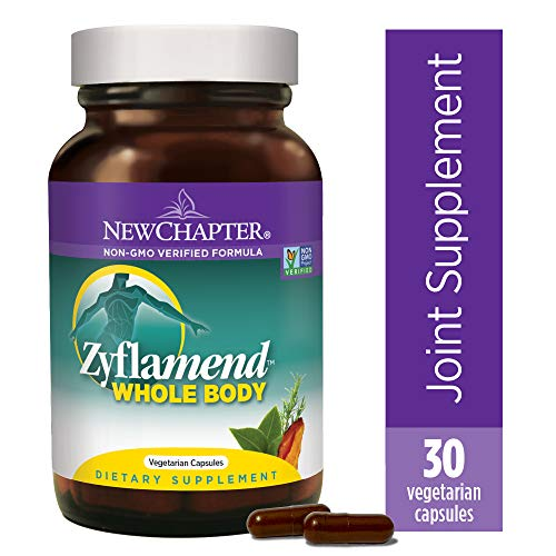 New Chapter Multi Herbal + Joint Supplement, Zyflamend Whole Body For Healthy Inflammation Response