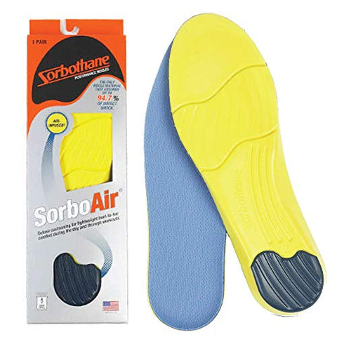 Sorbothane SorboAir Insole W 14, M 12.5-13.5 (Metric 46-47) - G