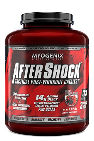 Myogenix Aftershock Wildberry Blast 5.82 Lb