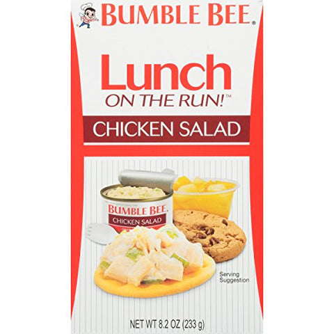 Bumble Bee Lunch on The Run Kit, Chicken Salad , 8.2 Ounce (Pack of 4)