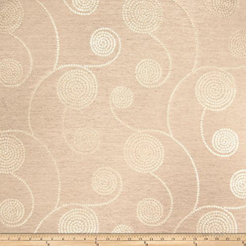 Fabricut Outlet Pinot Grigio Faux Silk Gold