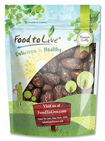 Medjool Dates, 1 Pound - Raw, Vegan