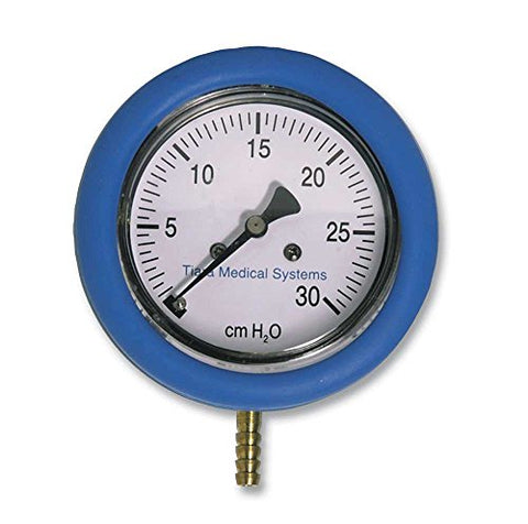 Gauge Manometer for CPAP/BiPAP Therapy Pressure Measurements