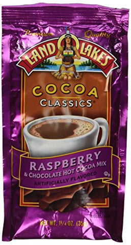 Land O' Lakes Raspberry Cocoa Mix - 1.25 oz - 12 pk