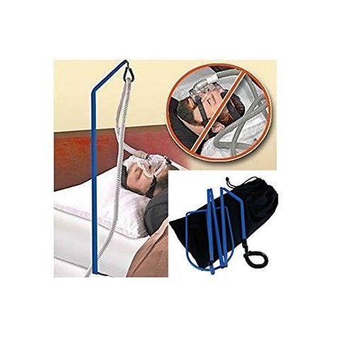 CPAP HOSE Holder Bed Sleep Tangle Proof Tube Oxygen Adjustable Sturdy Must Haves