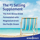 Image of Natural Vitality Calm, The Anti Stress Drink Mix, Magnesium Supplement Powder, Raspberry Lemon   16