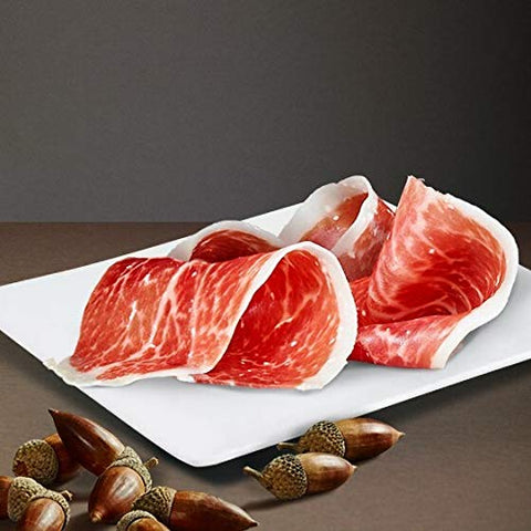 Monte Nevado  Iberico Ham Slices  Jamn Ibrico Lonjas  3oz/85grs  Pack of 1
