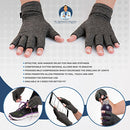 Image of Dr. Frederick's Original Arthritis Gloves for Women & Men - Compression for Arthritis Pain Relief - Rheumatoid & Osteoarthritis - Men & Women - Medium