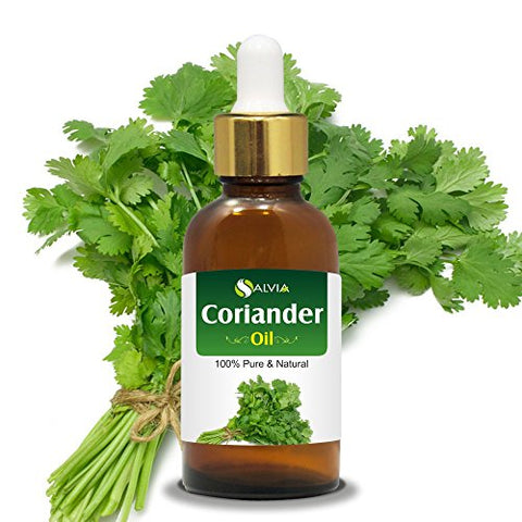 Coriander (Coriandrum Sativum) Essential Oil 100% Pure & Natural Undiluted Uncut Oil | Best for Aromatherapy | Therapeutic Grade - 50ml with Dropper