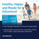 Image of BLIS ThroatHealth Oral Probiotics, Most Potent BLIS K12 Probiotic Formula Available, 2.5 Billion CFU, Throat Immunity Support and Oral Health for Adults and Kids, Sugar-Free Lozenges, 30 Day Supply
