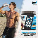 Image of BPI Sports Best BCAA - BCAA Powder - Branched Chain Amino Acids - Muscle Recovery - Muscle Protein Synthesis - Improved Performance - Hydration - Passion Fruit - 30 Servings - 10.58 oz.
