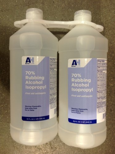 Rubbing Alcohol Isopropyl 32Ounce 2PACK