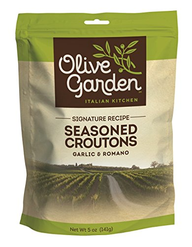 Olive Garden Seasoned Croutons, Garlic & Romano, 5 Oz (Pack Of 9)