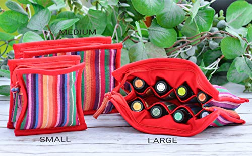 Essential Oil Case For Purse   Large Size Bag Holds 12 Oils   Chic And Compact Eo Bags In Multiple S