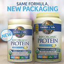 Image of Garden of Life Raw Organic Protein Vanilla Powder, 20 Servings *Packaging May Vary* Certified Vegan, Gluten Free, Organic, Non-GMO, Plant Based Sugar Free Protein Shake with Probiotics & Enzymes