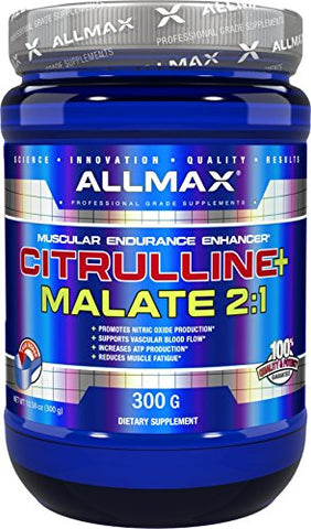 ALLMAX Nutrition Citrulline Malate 2:1 Powder, 300g