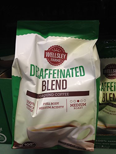 Wellsley Farms decaf ground coffee 40 oz (pack of 2)